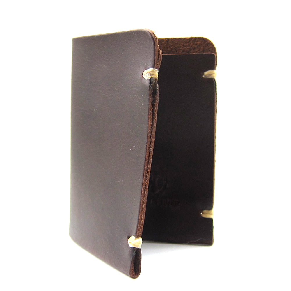 McGraw Card Holder, Second – Tan Horween Chromexcel