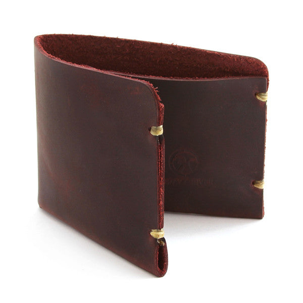 McGraw Oiled Brown Leather Wallet