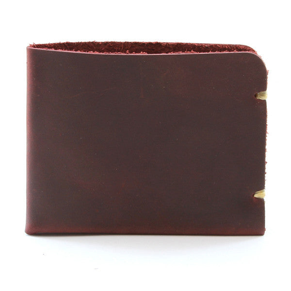 McGraw Oiled Brown Leather Billfold