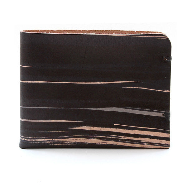 McGraw Sumie Hand Dyed Veg Tan Minimal Leather Wallet