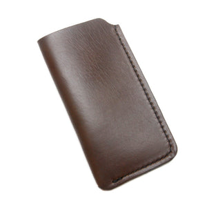 Horween Brown Leather iPhone Cover