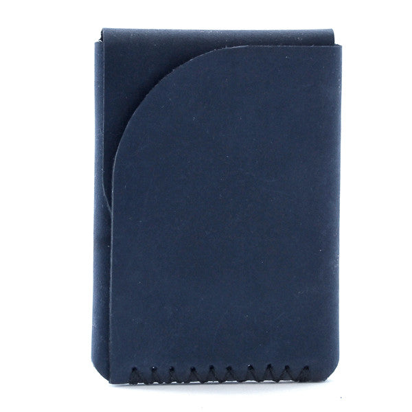 Tecolote Minimal Indigo Leather Wallet