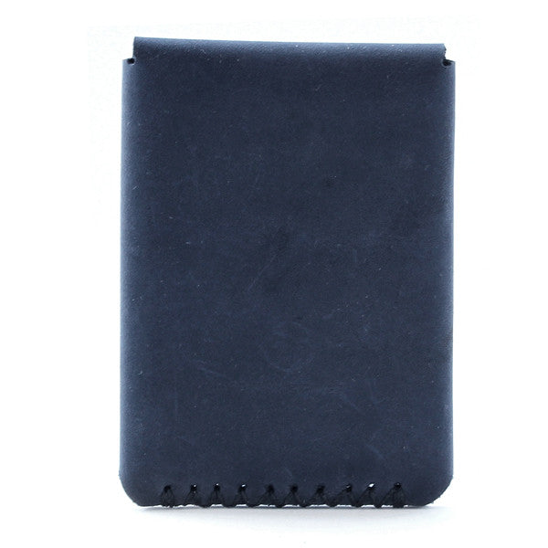 Tecolote Minimal Indigo Leather Wallet back