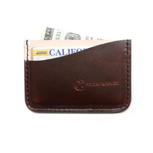 Brown Horween Card Case Made in USA