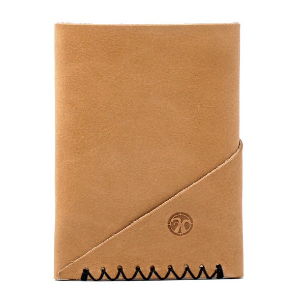 Super Minimal leather front pocket card holder front