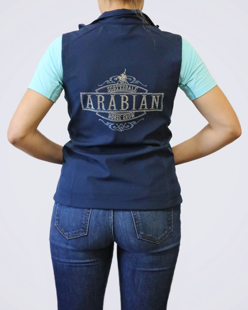Customizable Bling Softshell Vest
