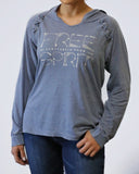 Hooded Lace Long Sleeve