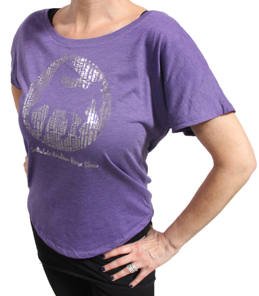 Women's Repeat Foil Tee