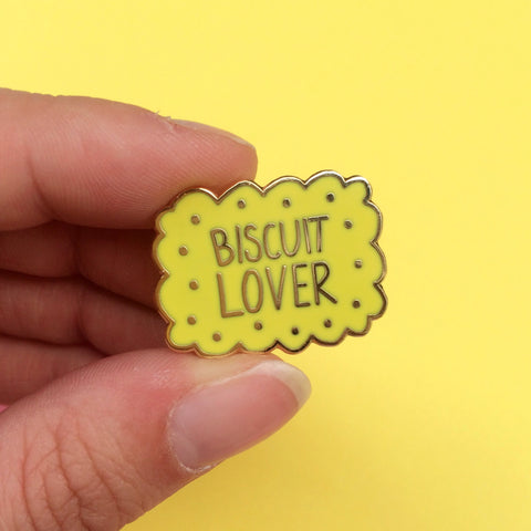 Biscuit Lover Enamel Pin