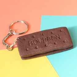 Odds and Sorts Bourbon Biscuit Keyring