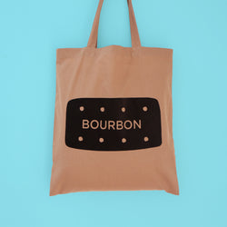 Odds and Sorts Bourbon Biscuit Printed Tote Bag