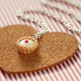 Odds and Sorts Cherry Bakewell Necklace