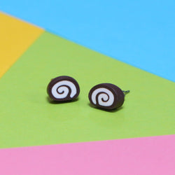 Odds and Sorts Chocolate Swirl Earrings