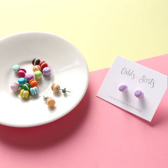 Odds and Sorts Macaroon / Macaron Earrings