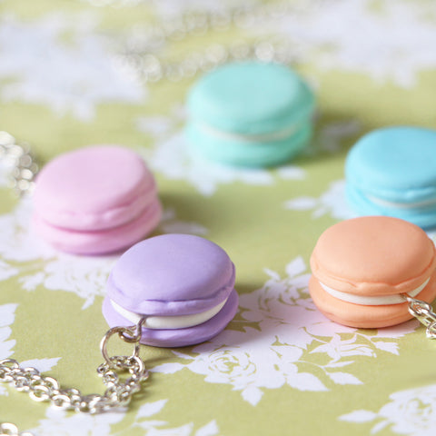 Odds and Sorts Macaroon / Macaron Necklace