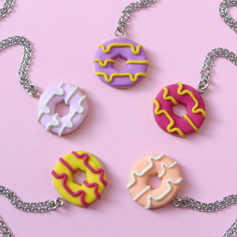 Odds and Sorts Party Ring Necklace