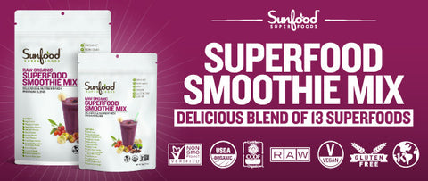 Superfood Smoothie Mix Organic and Raw 2.5 LB