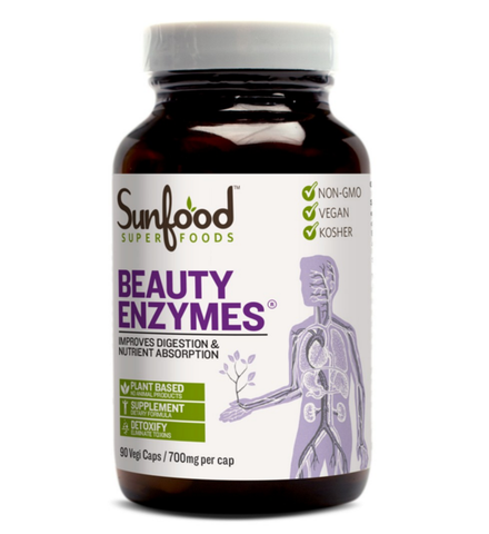 Sunfood Beauty Enzymes 90 Caps 700mg