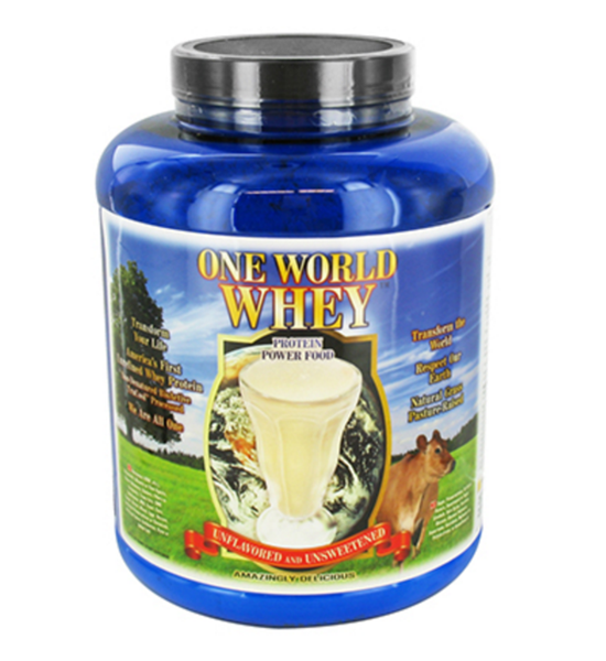 One World Whey Protein Powder - 5LB Canister
