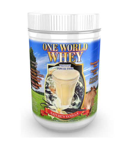 One World Whey Protein Powder 1 LB