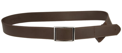 Adult/Teen Genuine Leather- Brown/Black
