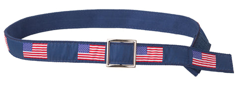 Teen Canvas Flag Belt