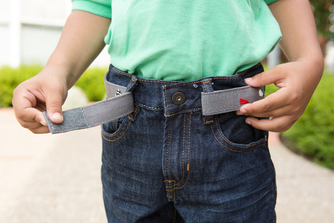 Grey Race Car Belt