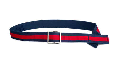 Teen Red Stripe Belt
