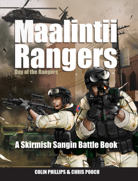 Maalintii Rangers - Day of the Rangers - A Battle Book for Skirmish Sangin
