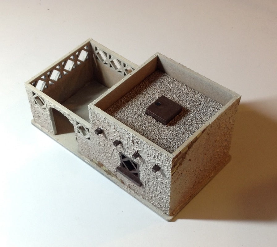 Small Middle Eastern Building with Courtyard