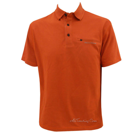 Field & Stream Travel Shirt UPF30 Moisure Wicking Quick Dry Polo