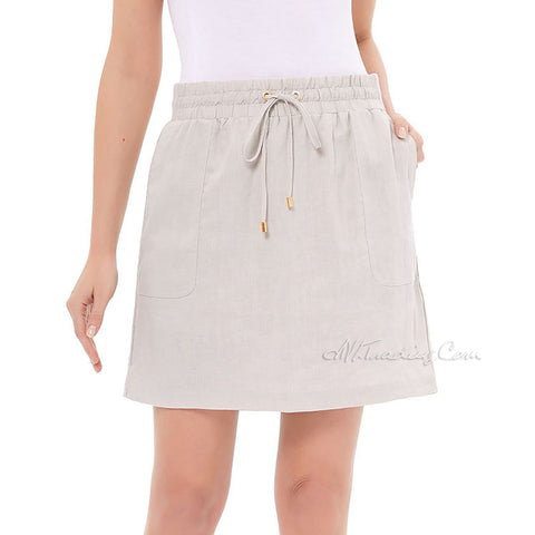47eced20e665 Ellen Tracy Company Women s Soft Linen Summer Skort Skirt with built i – JNL  Trading