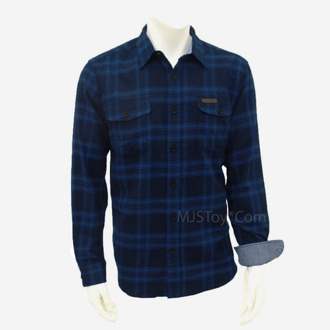 Field & Stream Soft Plaid Button Front Long Sleeve Cotton Flannel Men's Shirt