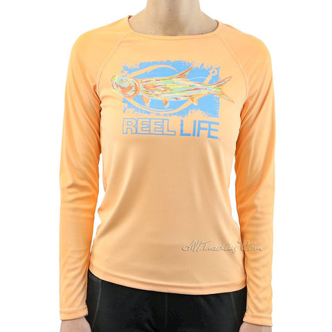 Light Weight Sun Ray Defender NWT REEL LIFE Men/'s Teal Shirt Size Large UPF 50