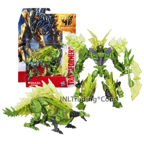 "Year 2014 Transformers Movie Age of Extinction Deluxe 5.5"" Figure Autobot SNARL"