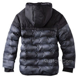 NWT C9 Champion Boy Hooded Puffer Jacket Warm Winter Coat Hand warmer XS (4-5)