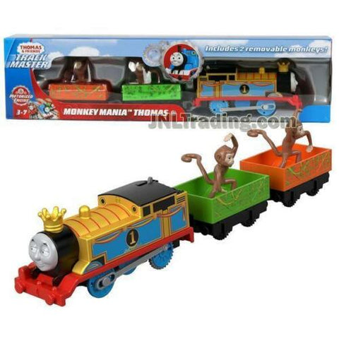 NEW Thomas & Friends 2018 Trackmaster MONKEY MANIA THOMAS The Train 2 Wagon