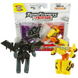 "Year 2005 Transformers Cybertron Mini-Con Class 2.5"" RAZORCLAW Vs. STEAMHAMMER"