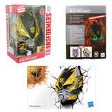 NEW Hasbro Transformers 3D-BUMBLEBEE FX Deco LED Night Light Crack Wall Art
