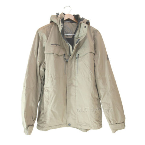 NWT ZeroXposur Men's Warm Winter Jacket/Coat Dozer Solid Midweight Oak MSRP $170
