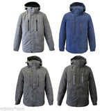 NWT Men ZeroXposur Stretch Heavyweight Warm Winter Hooded Jacket 4 colors M-2XL