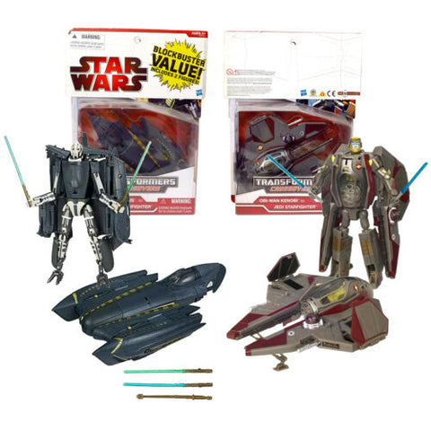 "Year 2009 Star Wars Transformers Crossovers 2 Pack 7"" Figure - GENERAL GRIEVOUS"