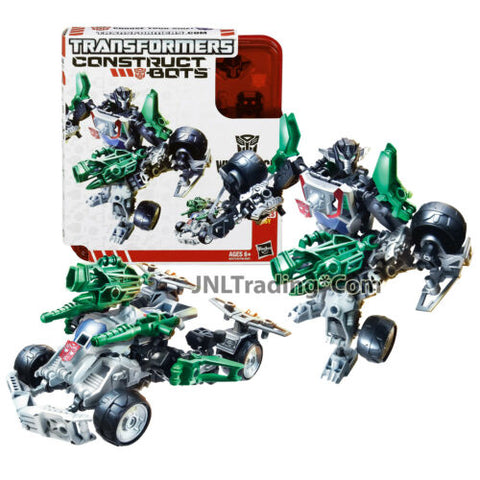 "Year 2013 Transformers Construct-Bots 6"" Tall Elite Class Autobot WHEELJACK"