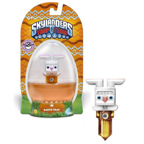 NEW Skylanders Trap Team Traptanium Earth Trap Spring 2015 Edition Easter Bunny