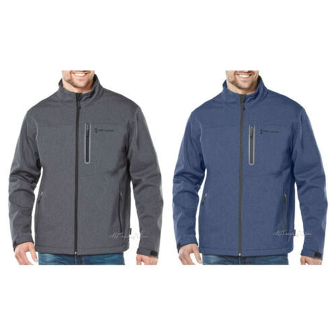 NEW Free Country Men's Water Resistant Warm Soft Flexible Shell Jacket MSRP $100