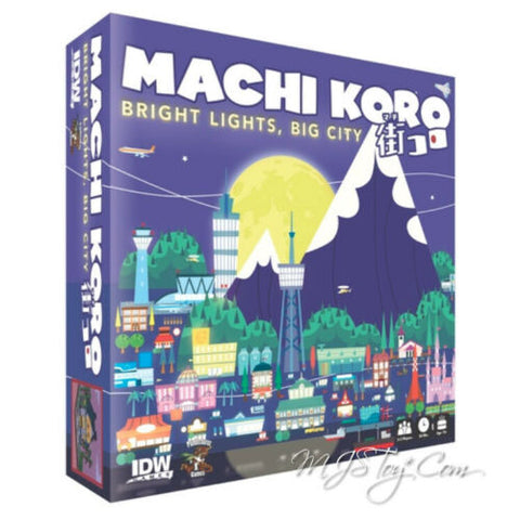 NEW IDW Machi Koro Bright Lights Big City Card/Board Game 2-5 players Age 10+