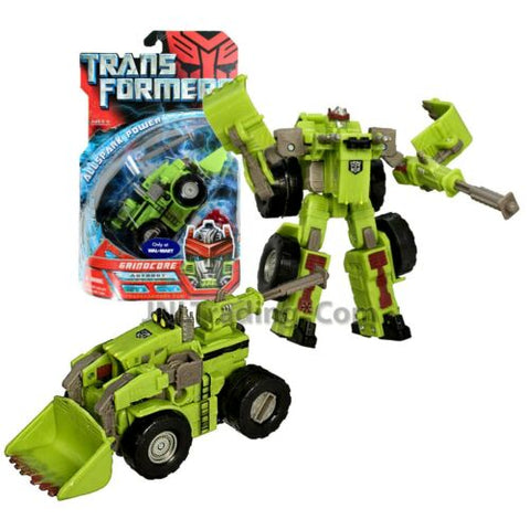 "Year 2007 Transformers 1st Movie All Spark Power Deluxe Class 6"" Fig GRINDCORE"