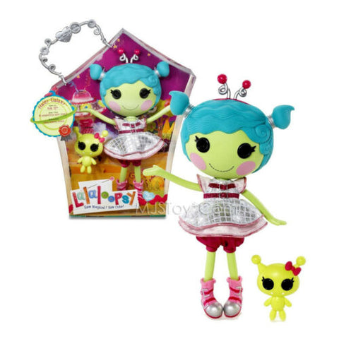 "NEW HOT Lalaloopsy 12"" Tall Button Rag Doll Haley Galaxy with Pet ""Alien"" RARE"
