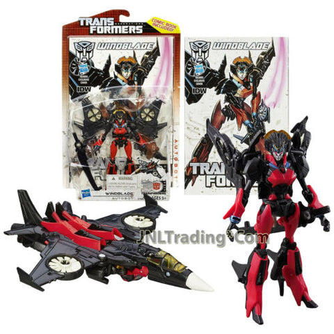 Yr 2014 Transformers Generations Thrilling 30 Deluxe Figure Autobot WINDBLADE