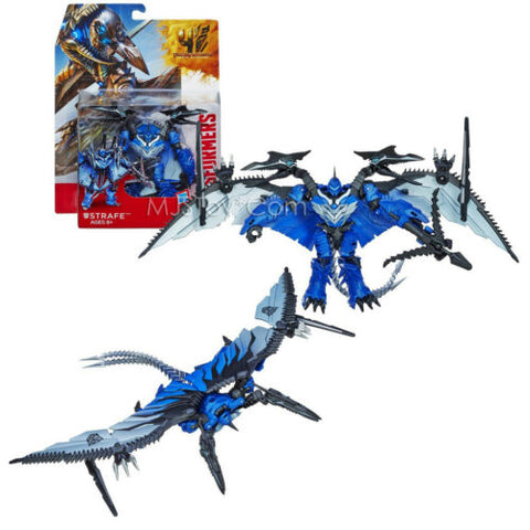"NEW Transformers Movie Age of Extinction Deluxe Class DINOBOT STRAFE 6"" Figure"
